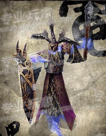 魔兽争霸dota玩家插画欣赏 原创人物手绘