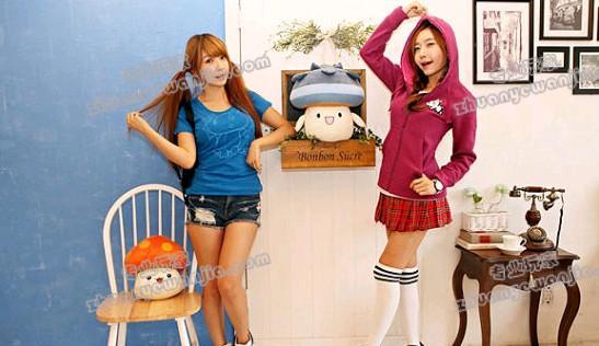 韩服《冒险岛》推出游戏周边服装 以游戏角色设定为原型
