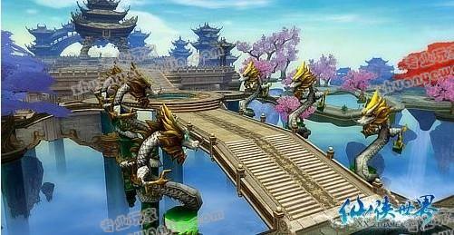 由巨人网络王牌研发团队倾力打造的大型3D仙侠风格的MMORPG《仙侠世界》以其唯美、清新的画面受到玩家的追捧,参加不删档封测的玩家们对游戏中的色调把握、建筑取样、风格体现、场景变化大为赞赏,特别是游戏中的天宫场景。