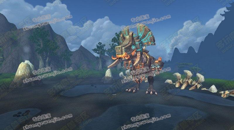 魔兽5.2巨兽岛野外boss击杀小窍门分享