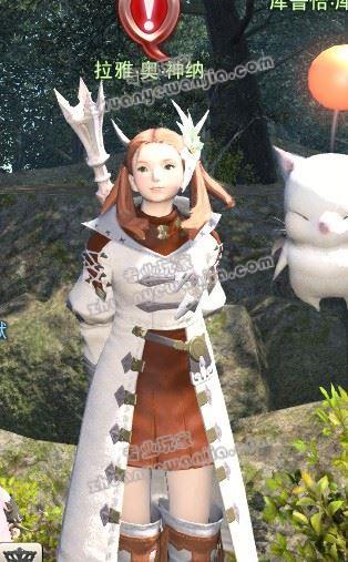 图示《最终幻想14》35级职业任务npc具体位置