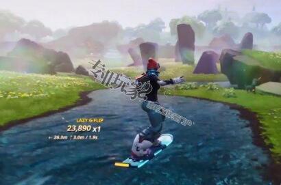 """《堡垒之夜》的7.4版本更新玩法 """"滑板激战""""备受瞩目"""