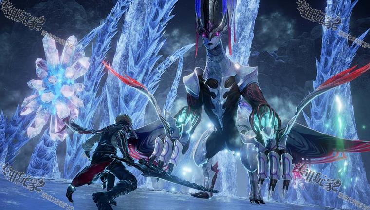 BANDAI NAMCO Entertainment 旗下戏剧性探索动作 RPG《CODE VEIN 噬血代码》(PS4/Xbox One / PC)第二弹大型付费 DLC 内容「冰花女皇(Frozen Empress)」已推出